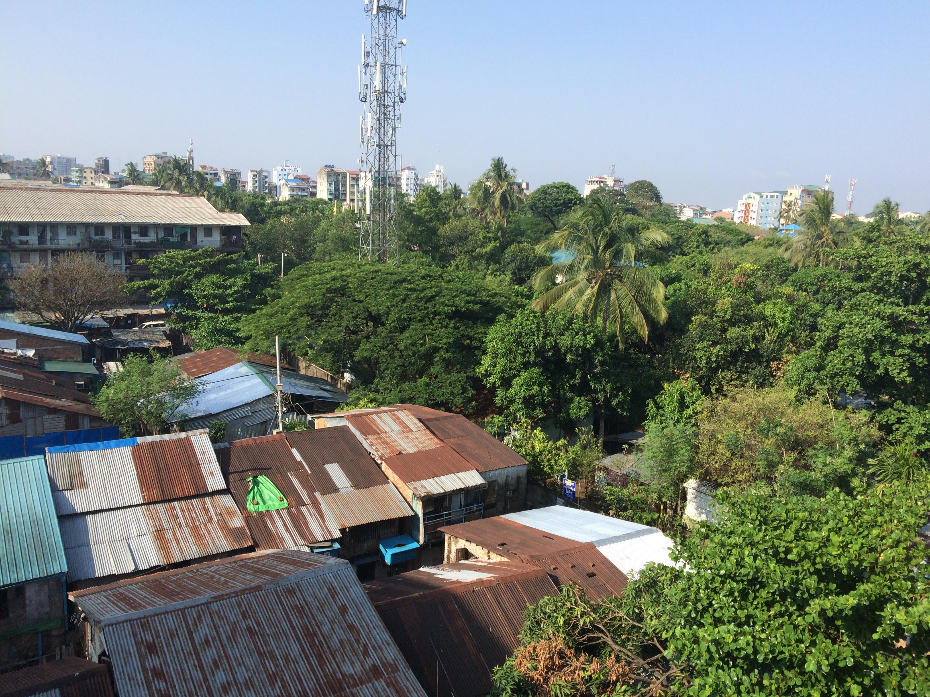 Angekommen in Yangon